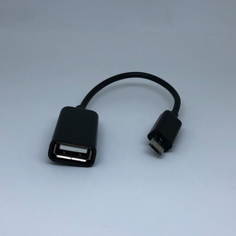 MicroUSB OTG кабел