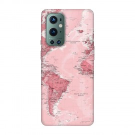 OnePlus 9 Pro кейс Розова карта