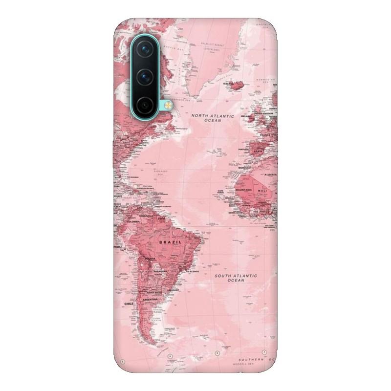 OnePlus Nord CE 5G кейс Розова карта