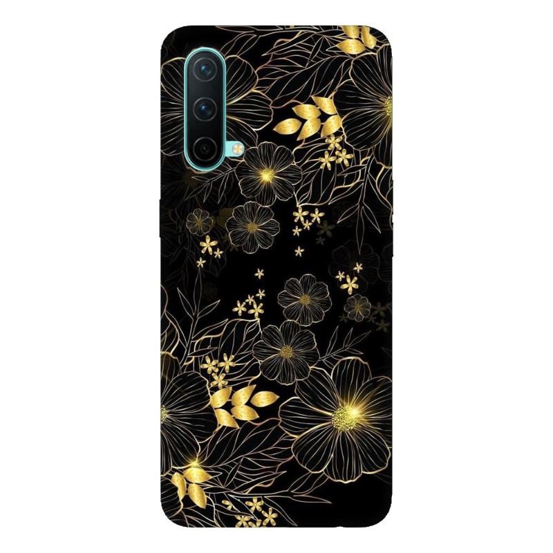 OnePlus Nord CE 5G кейс Златни цветя