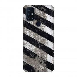 OnePlus Nord N10 кейс Черно и бяло
