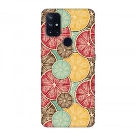 OnePlus Nord N10 кейс Плодове