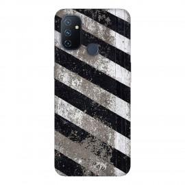 OnePlus Nord N100 кейс Черно и бяло