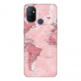 OnePlus Nord N100 кейс Розова карта