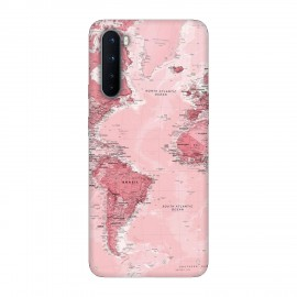 OnePlus Nord кейс Розова карта