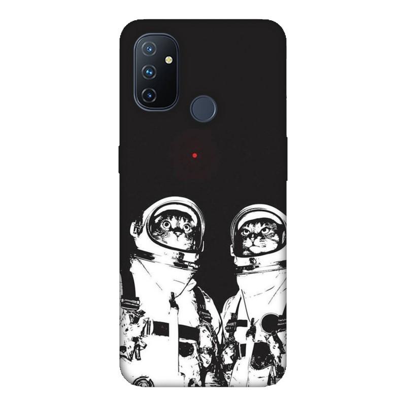 Калъфче за OnePlus 19 Котки Астронафти