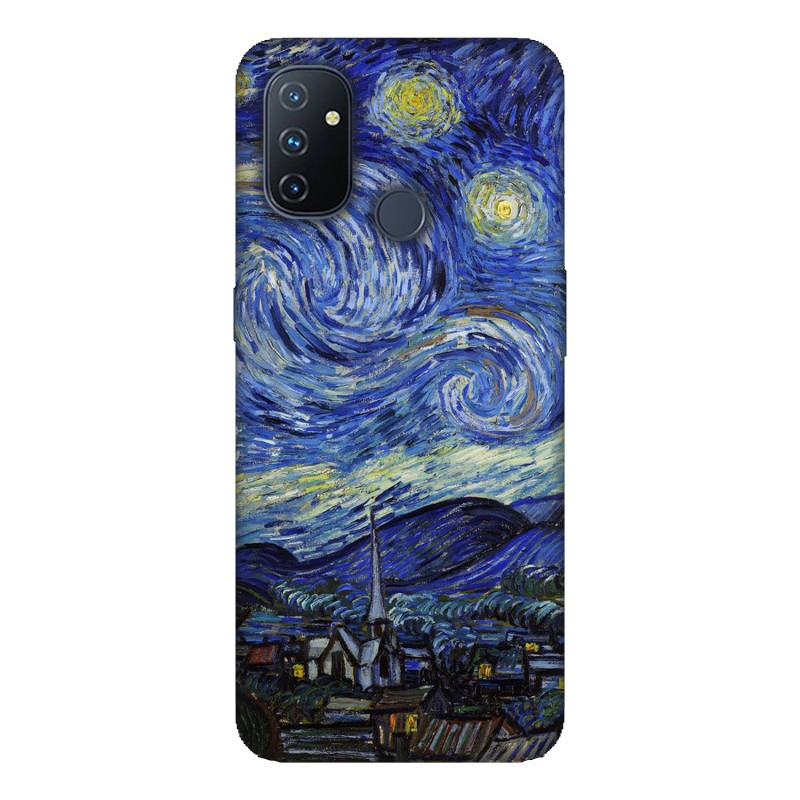Калъфче за OnePlus 6 Здвездна Нощ Ван Гог