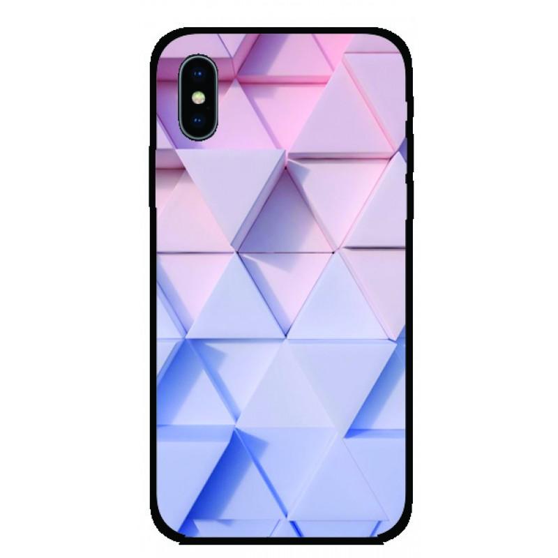 Калъфче за Motorola 44 розови триъгълници