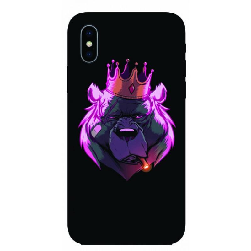 Калъфче за Motorola 101+8 мечка цар