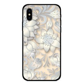 Калъфче за Motorola 227 бледо розови цветя