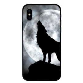Кейс за Motorola 405 черен вълк