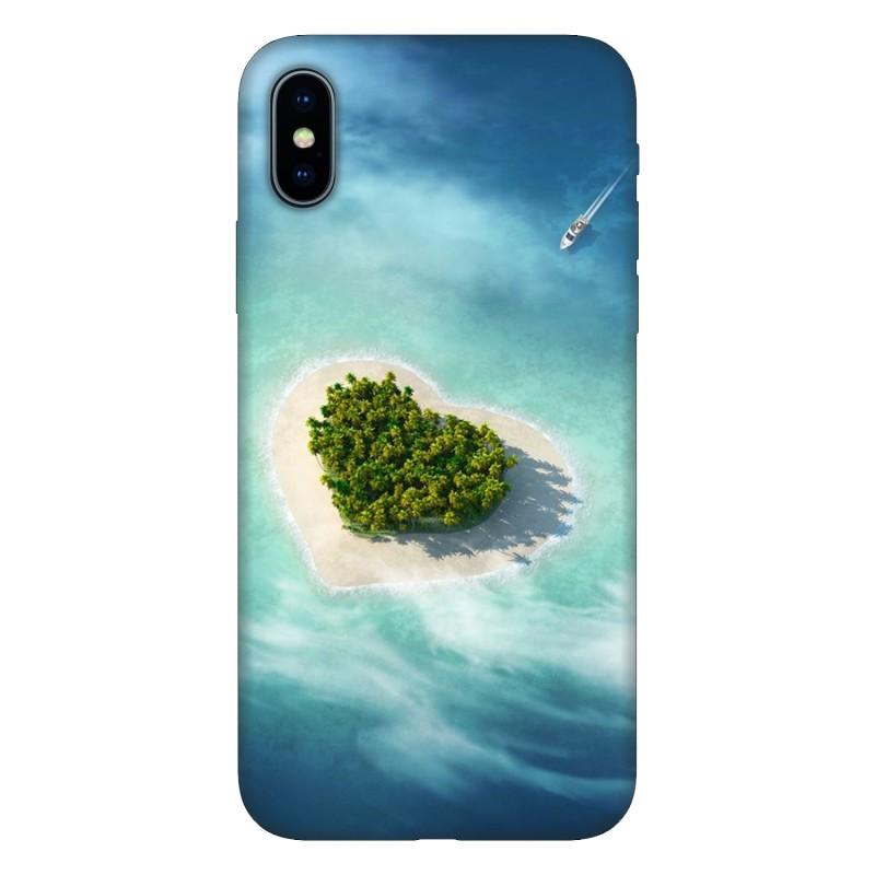 Кейс за Motorola 615 Остров сърце