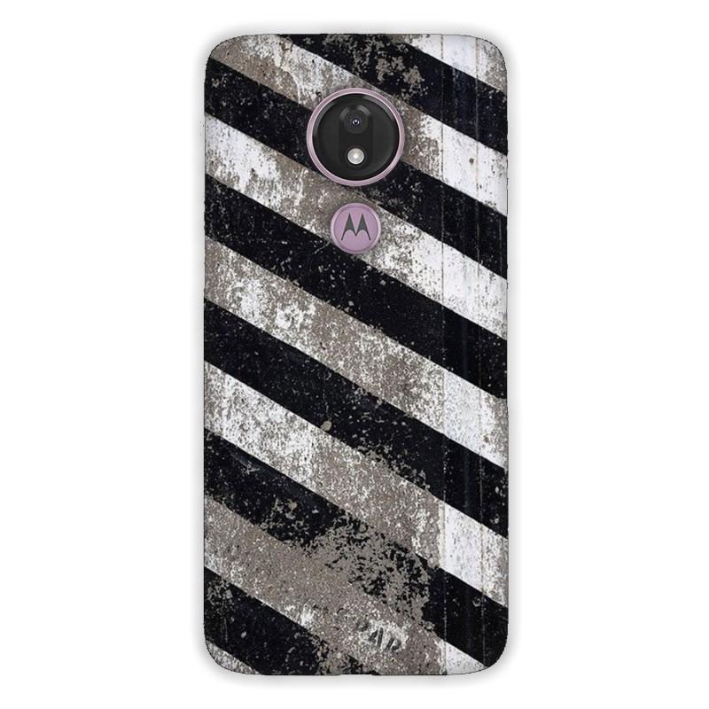 Motorola G7 Power кейс Черно и бяло