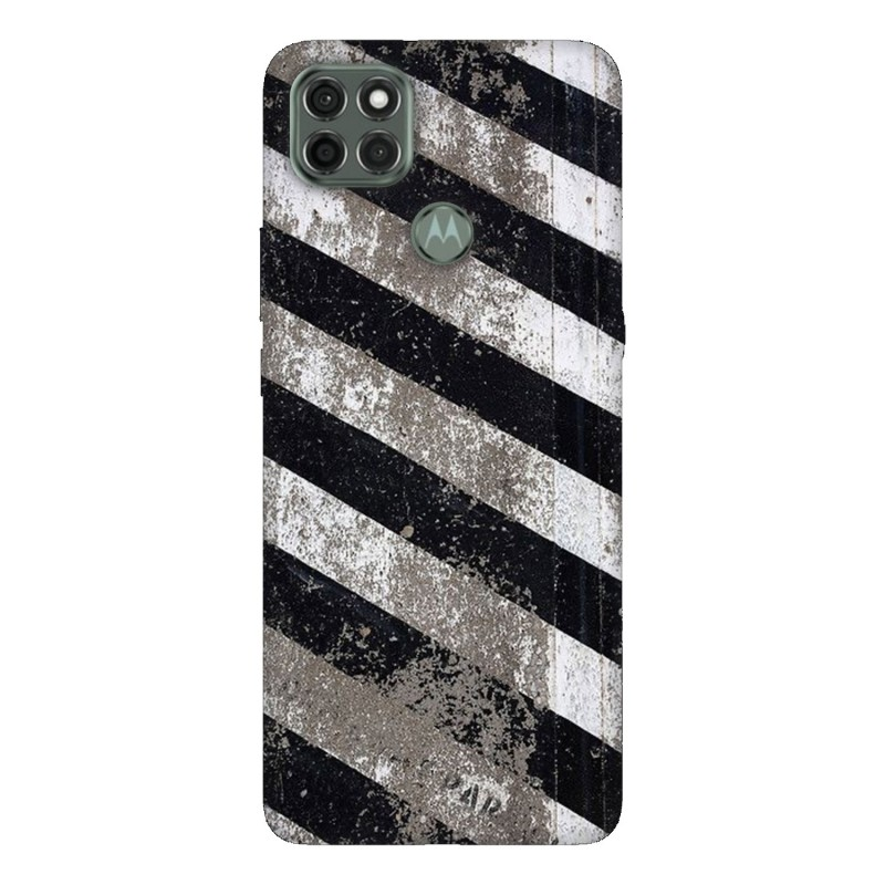 Motorola G9 Power кейс Черно и бяло