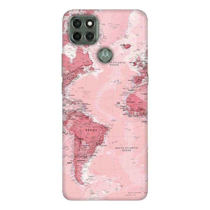 Motorola G9 Power кейс Розова карта
