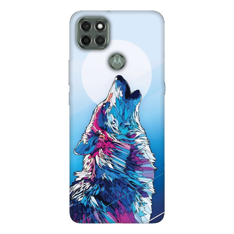 Motorola G9 Power кейс Вълк