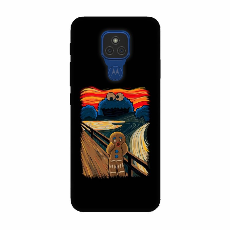 Motorola Moto E7 кейс Бисквитки