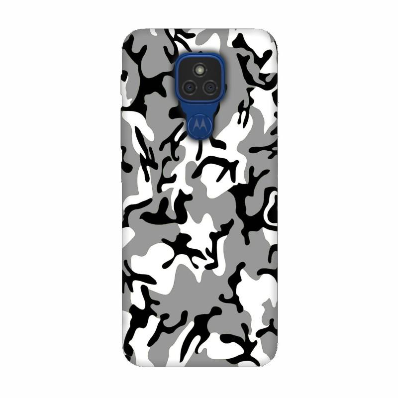 Motorola Moto E7 кейс Камуфлажен