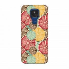 Motorola Moto E7 кейс Плодове