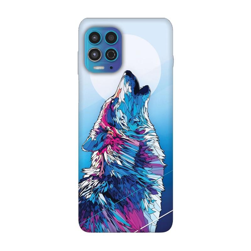 Motorola Moto G100 кейс Вълк