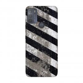 Motorola Moto G50 кейс Черно и бяло