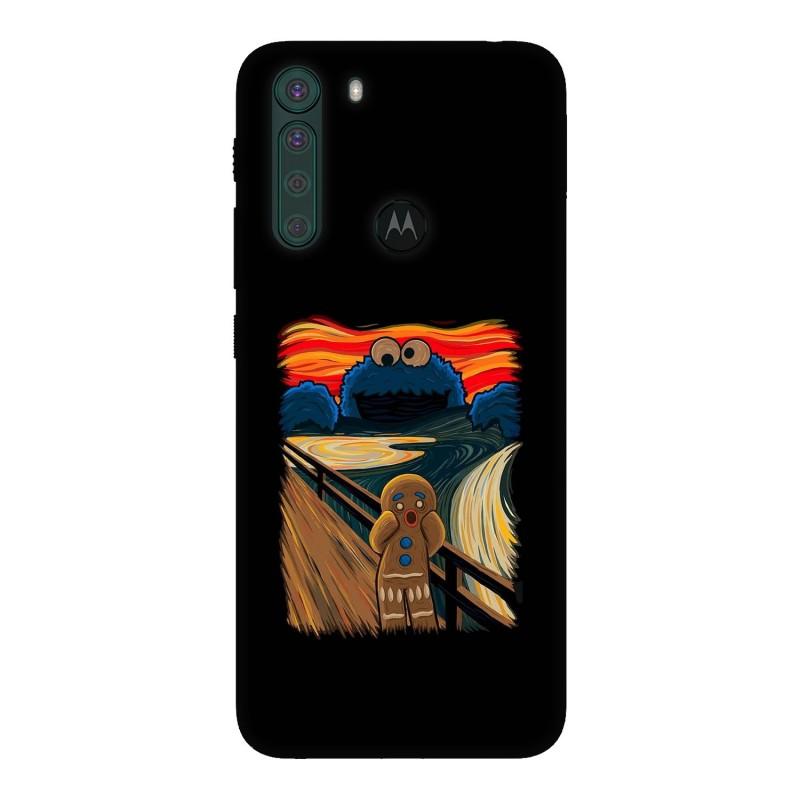 Motorola One Fusion кейс Бисквитки