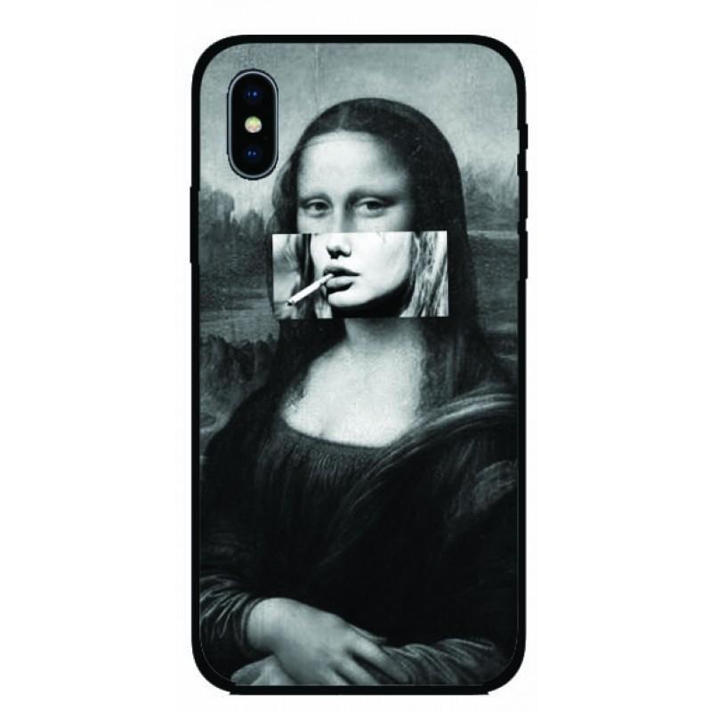 Калъфче за Nokia 70 съвременен колаж  на Мона Лиза