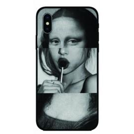Калъфче за Nokia 72 Момичето с Мона Лиза с близалка