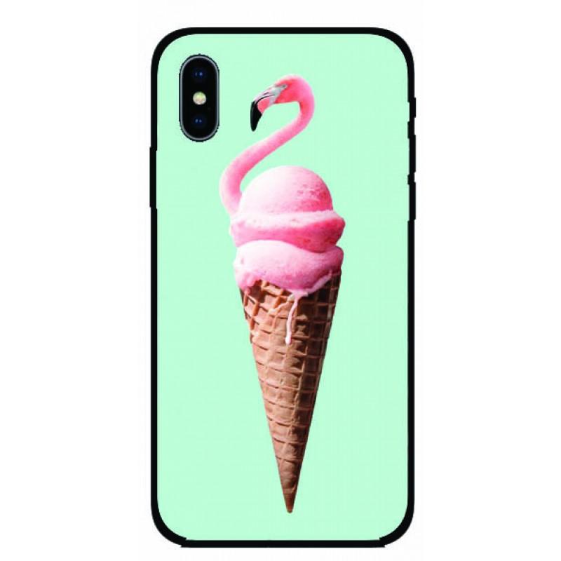 Калъфче за Nokia 101+41 сладоледено фламинго