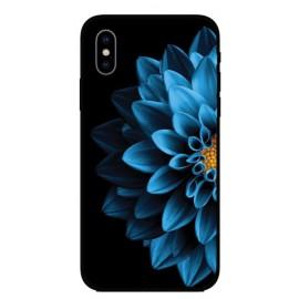 Калъфче за Nokia 101+85 синьо цвете