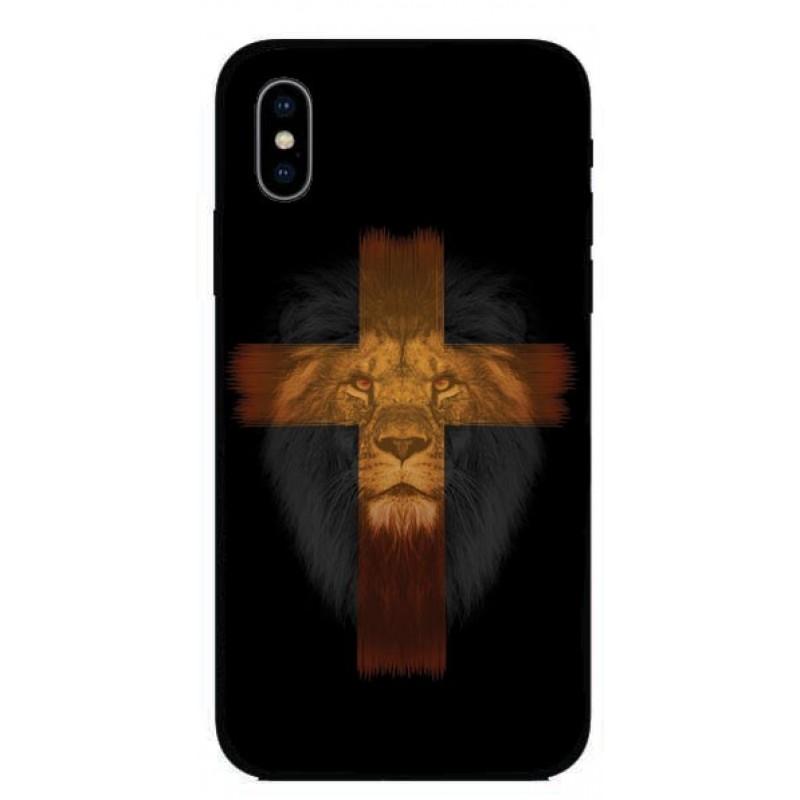 Калъфче за Nokia 248 лъв и кръст