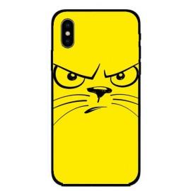 Кейс за Nokia 293 ядосана котка