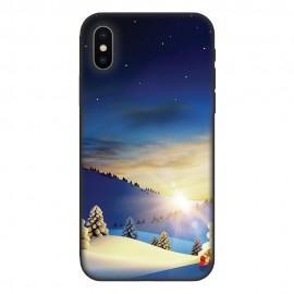 Кейс за Nokia 595 Коледен пейзаж