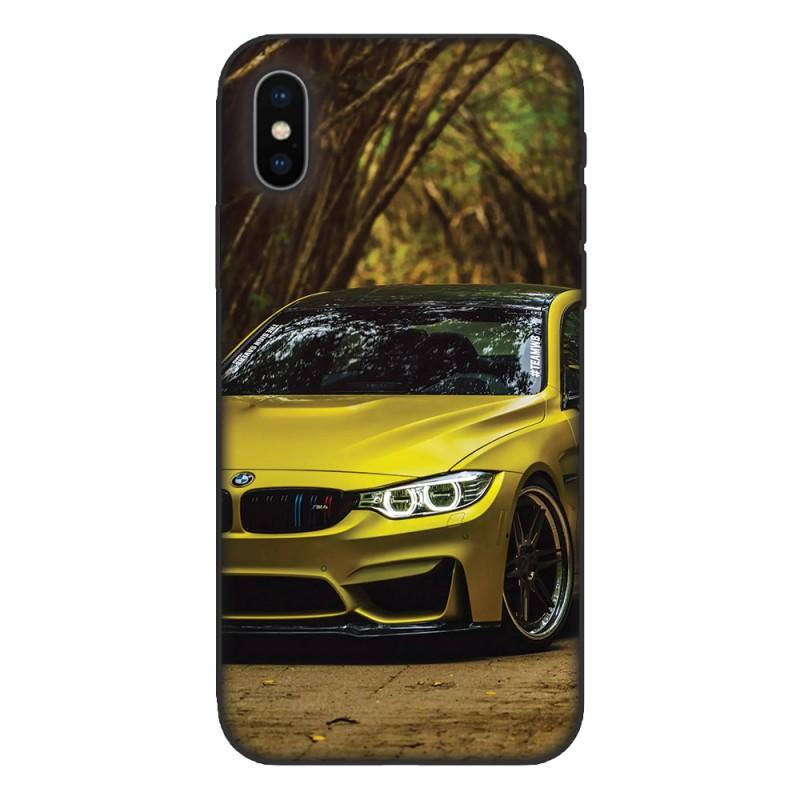 Кейс за Nokia 536 Жълто BMW