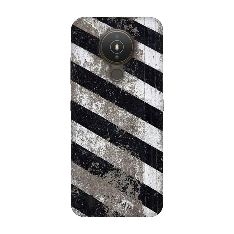 Nokia 1.4 кейс Черно и бяло