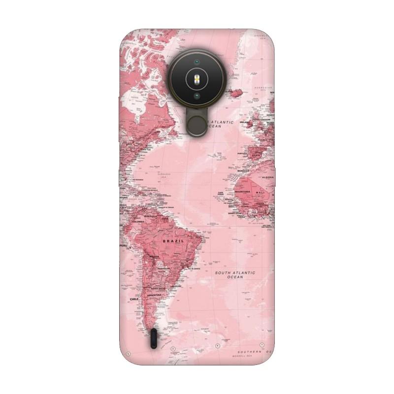 Nokia 1.4 кейс Розова карта