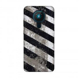 Nokia 5.3 кейс Черно и бяло