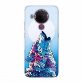 Nokia 5.4 кейс Вълк