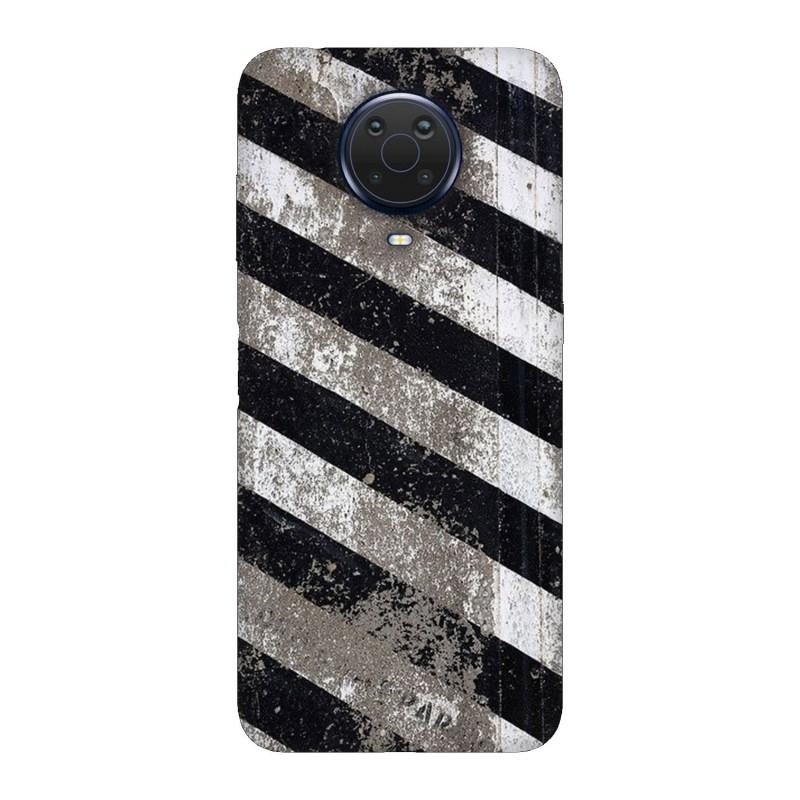Nokia G20 кейс Черно и бяло