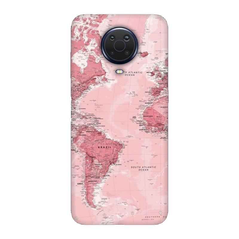 Nokia G20 кейс Розова карта