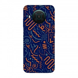 Nokia X10 кейс Чертички