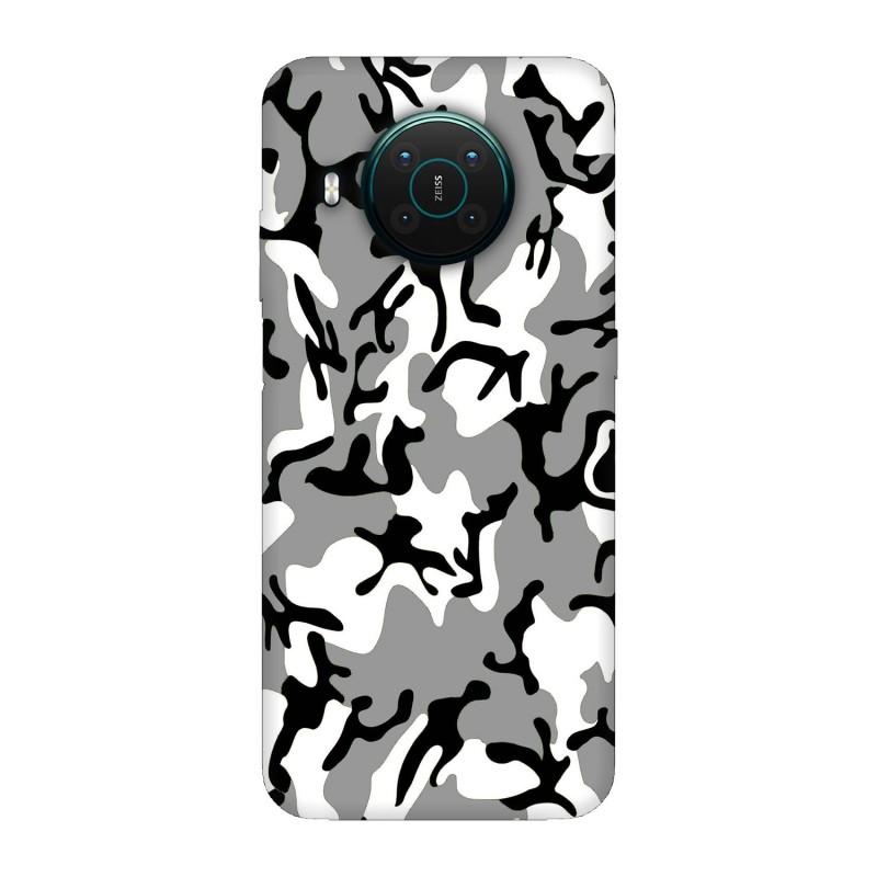 Nokia X10 кейс Камуфлажен