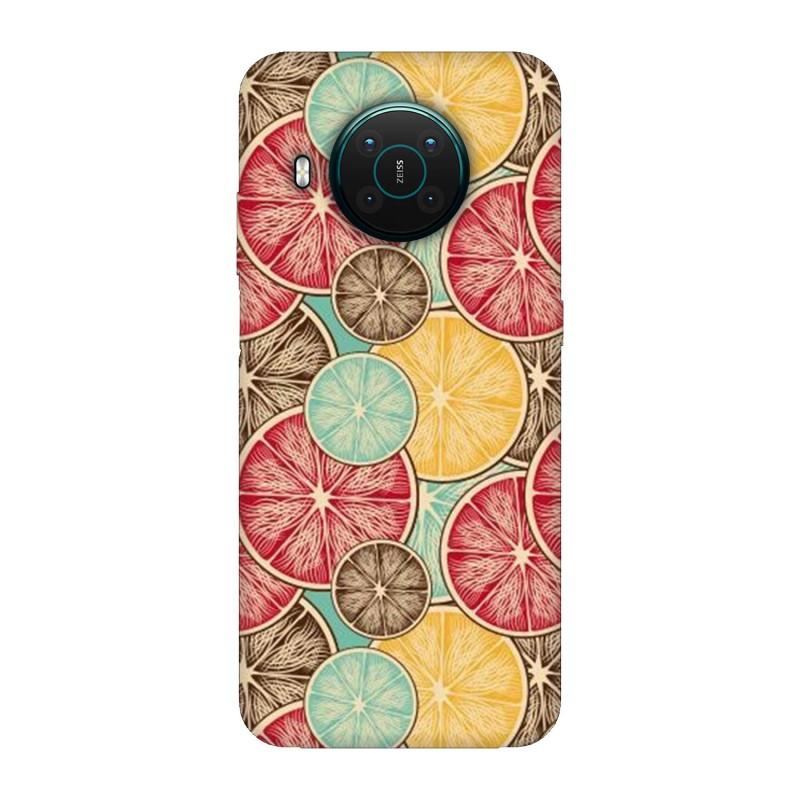 Nokia X10 кейс Плодове