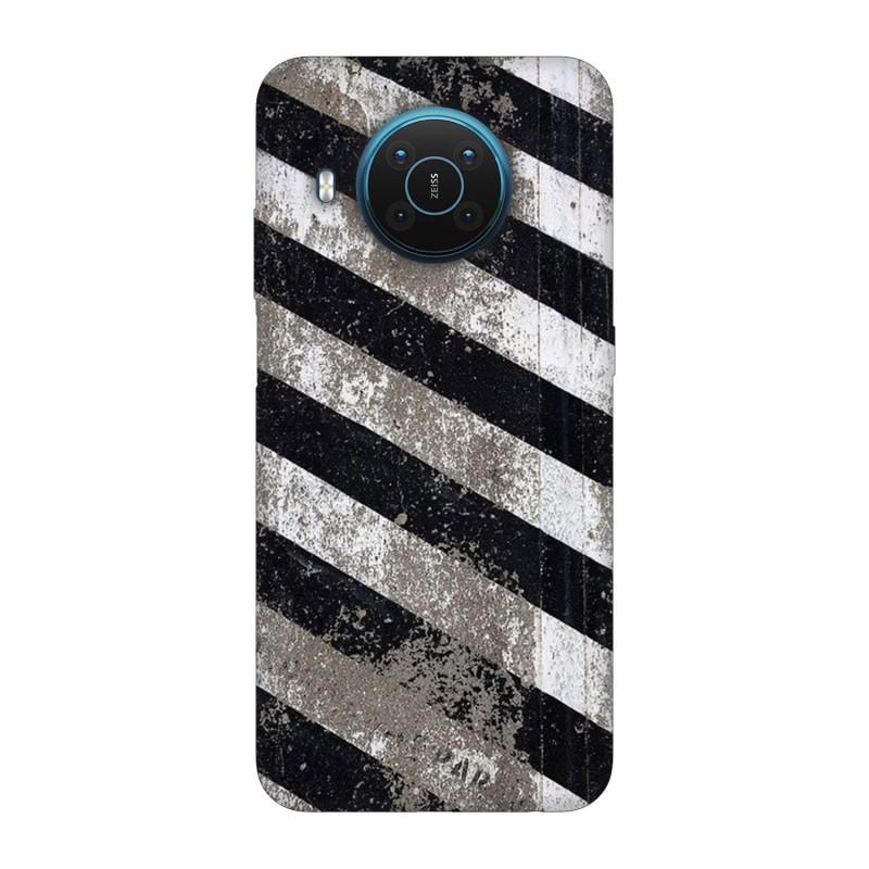 Nokia X20 кейс Черно и бяло
