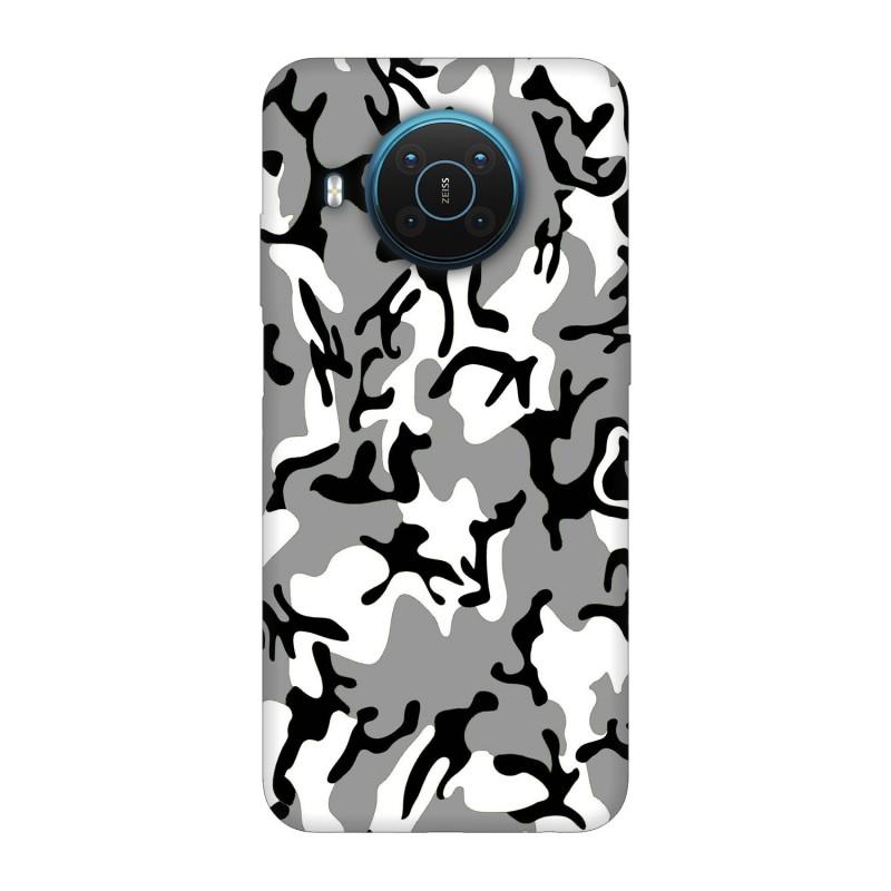 Nokia X20 кейс Камуфлажен