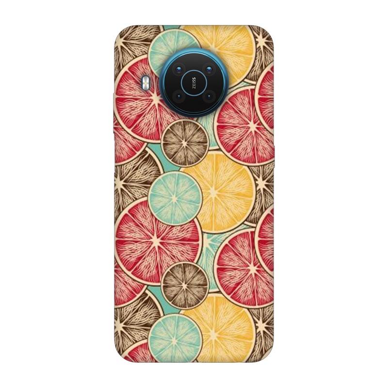 Nokia X20 кейс Плодове
