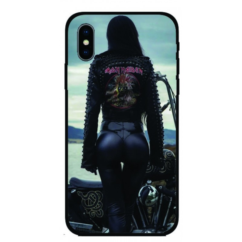 Калъфче за Samsung 88 MotoGirl  Iron Maiden