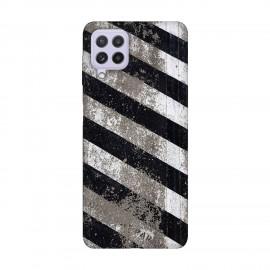 Samsung А22 4G кейс Черно и бяло