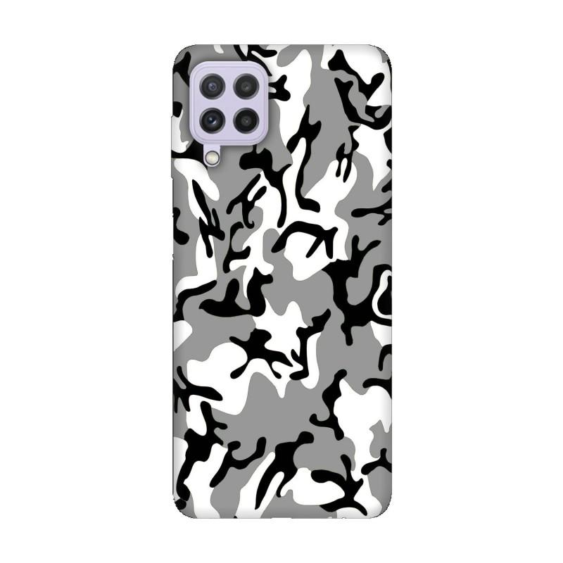 Samsung А22 4G кейс Камуфлажен