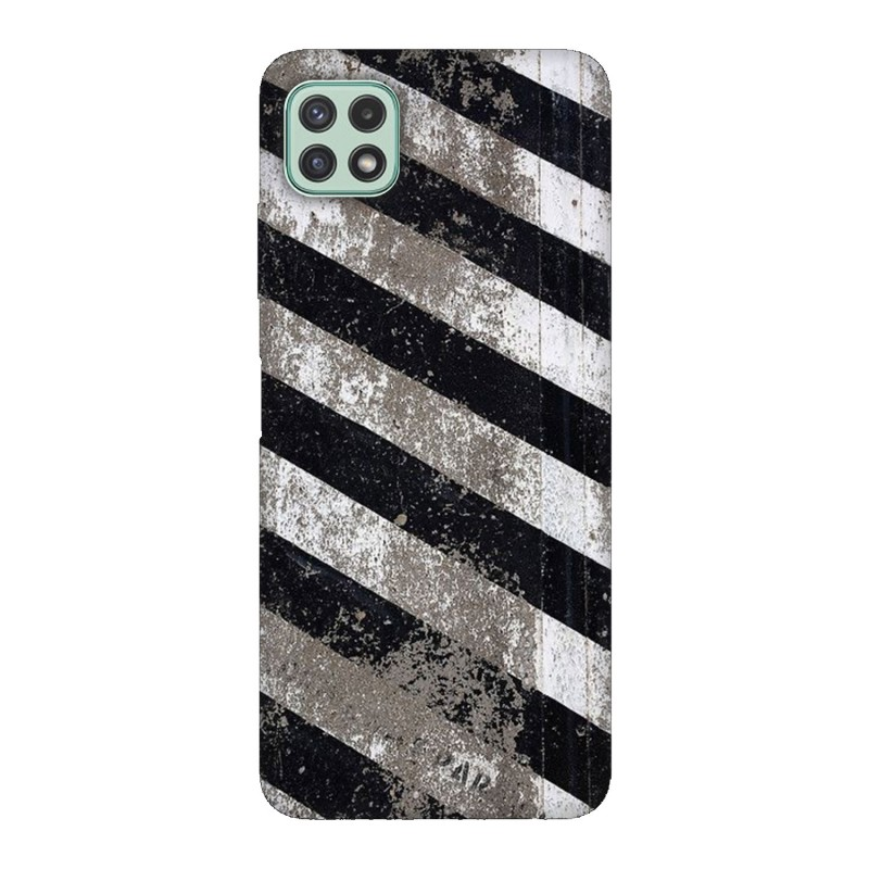 Samsung А22 5G кейс Черно и бяло